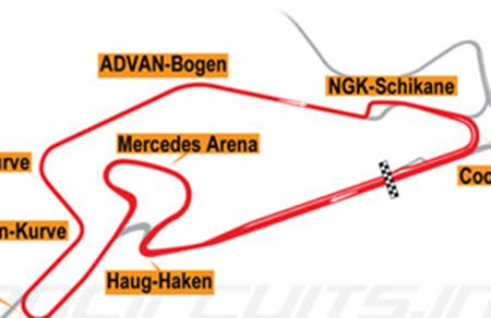 DTM. Гонки в Германии (Nurburgring Sprint) @ Nürburg, Germany